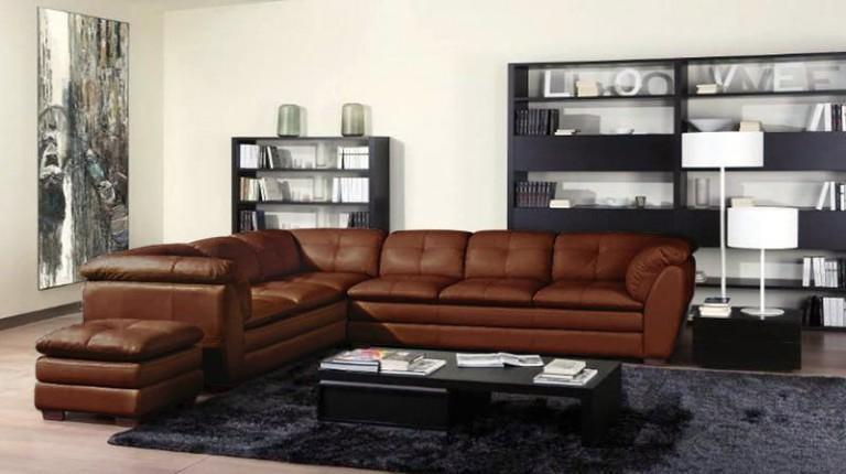 sofa kulit informa sectional capella