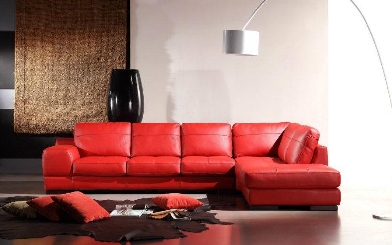 sofa kulit asli leather harga jual
