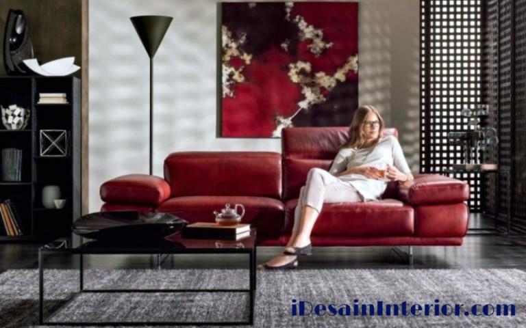 sofa kulit mewah italy natuzzi_Preludio2_1