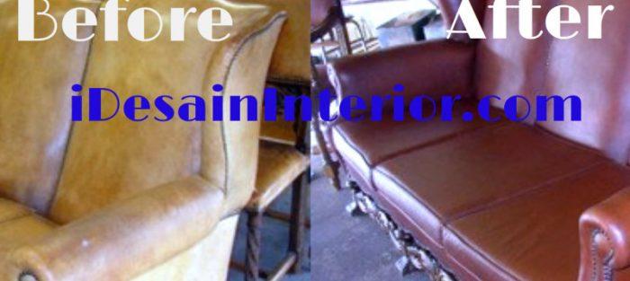 ganti kulit sofa daerah bintaro