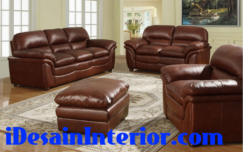 harga sofa kulit asli genuine leather di jakarta