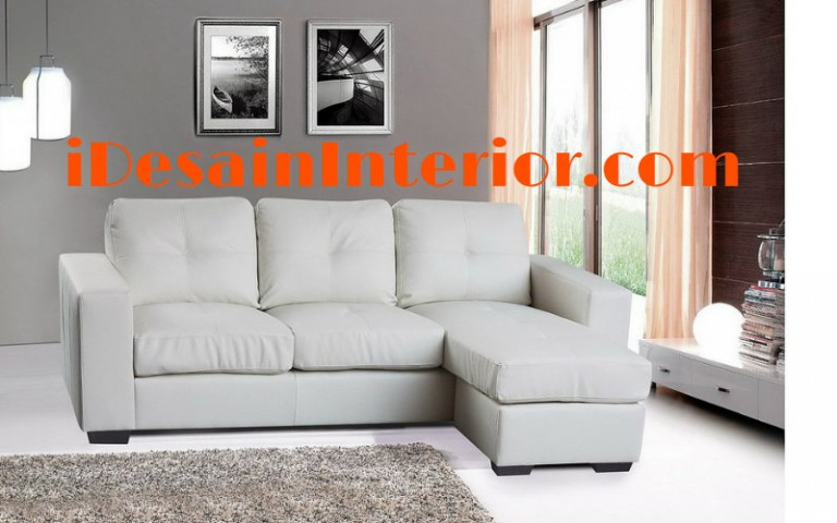 harga sofa minimalis kulit warna putih