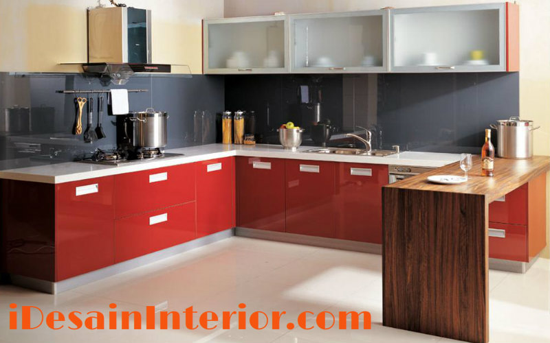 Kitchen set archives idesaininterior com for Kitchen set tangerang