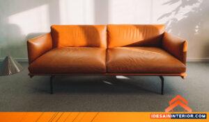 model sofa kulit asli custom design