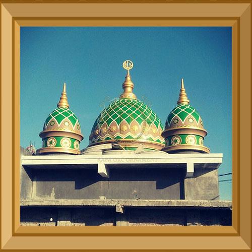Harga Kubah Masjid GRC Malang